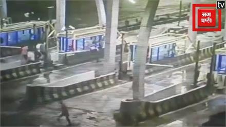 टोल बूध पर फिर हुई तोड़फोड़, पुलिस ने दर्ज किया मामला