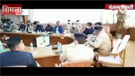 Shimla में होने वाले पूर्ण राज्यत्व समारोह के लिए अभूतपूर्व होगी सुरक्षा