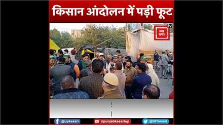 किसान आंदोलन में पड़ी फूट, दिल्ली हिंसा के बाद आंदोलन से अलग हुए ये दो संगठन Farmers Leader End The Movement