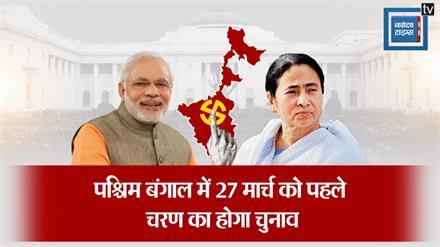 पश्चिम बंगाल में 8 चरण में होगा विधानसभा चुनाव, 2 मई को आने वाले चुनावी नतीजे तय कर देगी ममता दीदी की तकदीर
