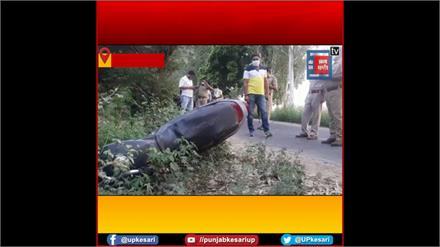 Baghpat: मुठभेड़ में 25 हजार का इनामी बदमाश घायल, गोकशी के कई मुकदमों में था वांछित