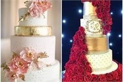 Wedding Cake! रिसेप्शन हो या कॉकटेल पार्टी, ट्राई करें ये यूनिक केक