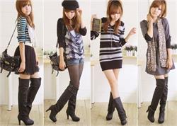 लॉन्ग बूट्स का फैशन, खुद को दें स्टाइलिश लुक (PICS)