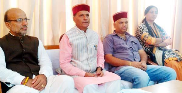 रामस्वरूप ने कहा-परिवर्तन रैली से उड़ी सीएम वीरभद्र की नींद