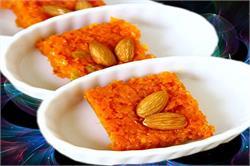 इन सर्दियों में बनाए घर पर गाजर की बर्फी (pics)