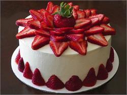 यमी स्ट्राबेरी चीज़ केक (pics)