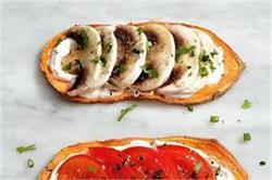 स्नैक्स में खाएं Sweet Potato Toasts