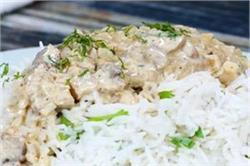 घर पर बनाएं टेस्टी-टेस्टी क्रीमी मशरूम चिकन