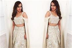 डिजाइनर मनीश मल्होत्रा के लहंगे में बेहद खूबसूरत दिखीं Sonakshi
