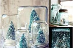 क्रिसमस पर DIY तरीके से बनाएं Mason Jar Snow Globe