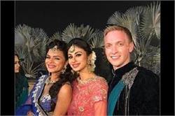 Aashka Goradia के संगीत फंक्शन में मौनी रॉय ने किया डांस, बाकी टीवी सेलेब्स भी दिखें