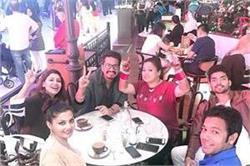 हनीमून के बाद दुबई में दोस्तों के साथ एन्जॉय करते नजर आए भारती-हर्ष