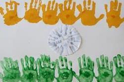 बच्चों को घर पर सिखाएं National Flag से जुड़े क्राफ्ट