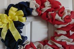 घर पर ही बनाएं spring Wreath