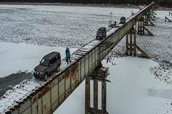 अनोेखा पुल,यहां गाड़ी चलाना खतरे से खाली नहीं