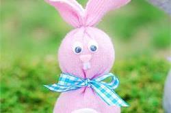 घर पर खुद ही बनाएं Sock Bunny