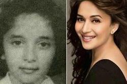 बचपन में बहुत क्यूट थीं Madhuri Dixit , देखे तस्वीरें