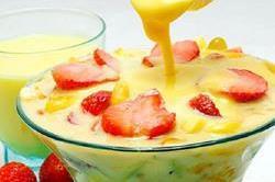हैल्दी और टेस्टी Fruit Custard