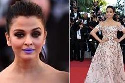 ऐश्वर्या की Purple Lipstick की तरह इन हीरोइनों ने भी किया अनोखा एक्सपेरिमेंट