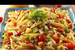 20 मिनट में बनाकर खाएं Mozzarella Pasta Salad