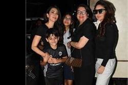 ब्लैक आउटफिट में स्पॉट हुई Kapoor Women, ट्रांसपेरेंट टॉप में दिखा करीना का हॉट लुक