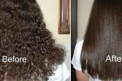 नेचुरल तरीके से इस तरह करें घर पर Hair Straight