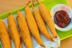 चाय के साथ खाएं गर्मा-गर्म मिर्ची वड़ा
