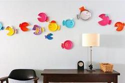 DIY Ideas! Paper Plate से करें वॉल डैकोरेशन