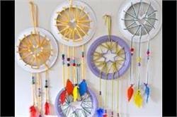 बच्चों के साथ मिलकर बनाएं DIY Dream Catcher
