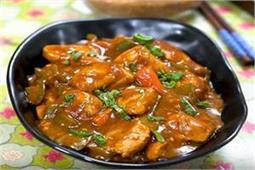 चिली लहसुन चिकन