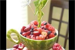 मजेदार तरीके से सर्व करेंगे Fruits तो मेहमान भी हो जाएंगे खुश