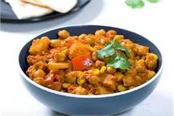 शलगम के साथ बनाएं Vegetarian Chickpea Curry