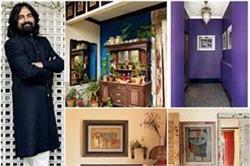 मशहूर डिजाइनर सब्यसाची ने पुराने फर्नीचर से डैकोरेट किया अपना घर