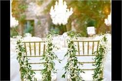 Wedding Decor: शादी में इस अलग अंदाज से करें चेयर्स डैकोरेशन