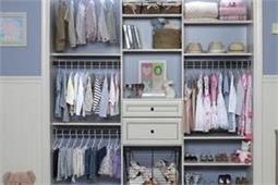 बच्चे के Closet की यू करें सैटिंग