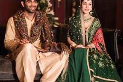 Royal Wedding: पाकिस्तान के इस जोड़े ने पहनी सब्यसाची की ड्रैस, देखिए खूबसूरत तस्वीरें