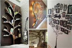 Wall Tree Decoration के ये तरीके आप भी करना चाहेंगे ट्राई