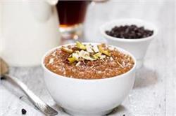 गर्मियों में बनाएं चॉकलेटी Oatmeal