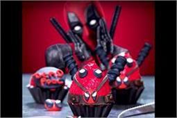 आपके बच्चे के टिफिन की शोभा बढ़ा सकते हैं Deadpool Cupcakes