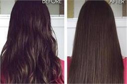 बिना किसी साइड-इफैक्ट के नैचुरल तरीके से बालों को करें स्ट्रेट