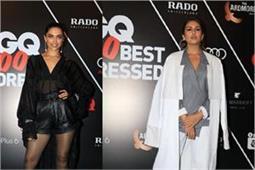 GQ 100 Best Dressed 2018: ब्लैक एंड व्हाइट में दिखें बॉलीवुड स्टार्स, जानिए किसने चुना कैसा ड्रैसअप