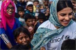 बांग्लादेश के शरणार्थी कैंप पहुंची प्रियंका, ट्वीट कर बच्चों के लिए मांगी मदद