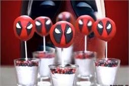 बच्चों को पार्टी में खिलाएं Deadpool Cake Pops