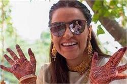 नेहा ने शेयर की 'चूड़ा सेरेमनी' की तस्वीरें, देसी लुक में दिखी बेहद खूबसूरत