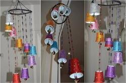 DIY Ideas बच्चों के साथ मिलकर बनाएं घर के लिए सुदंर विंड चाइम
