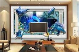 घर को देना है वाइब्रेंट लुक तो TV Wall को 3D वॉलपेपर से करें हाइलाइट