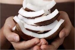 इन 9 परेशानियों का हल है नारियल की गिरी