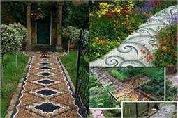 Pathway Ideas: फूलों के अलावा गार्डन को इस तरह दे स्मार्ट लुक