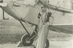 यह है भारत की वो पहली महिला पायलट जिन्होंने साड़ी पहनकर उड़ाया था विमान
