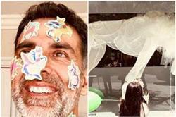फादर्स डे पर अक्षय कुमार ने एेसे किया अपनी बेटी की विश को पूरा